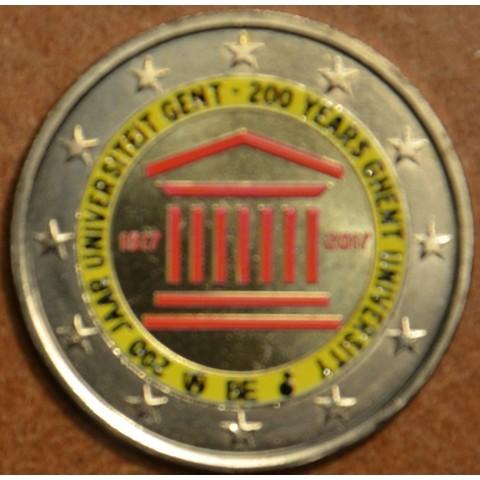 2 Euro Belgicko 2017 - Univerzita v Gente II. (farebná UNC)