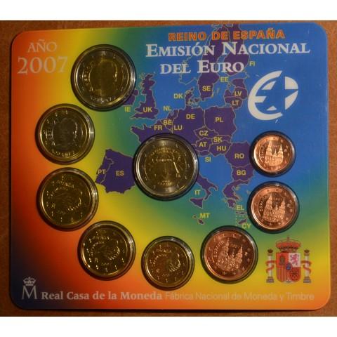 Súbor 9 Španielskych mincí 2007 (BU)