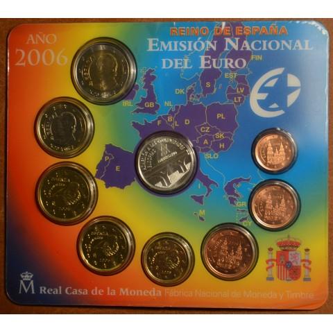 Súbor 9 Španielskych mincí 2006 (BU)