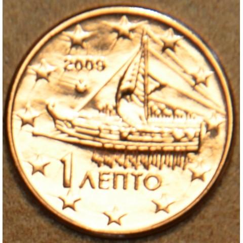 1 cent Grécko 2009 (UNC)