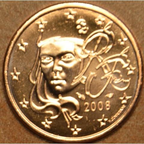 1 cent Francúzsko 2008 (UNC)