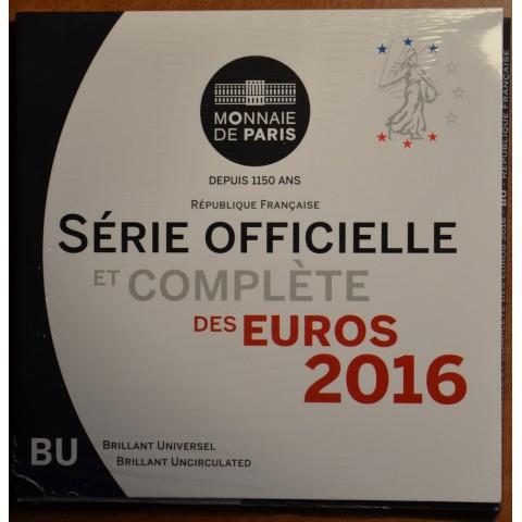 Sada 8 euromincí Francúzsko 2016 (BU)