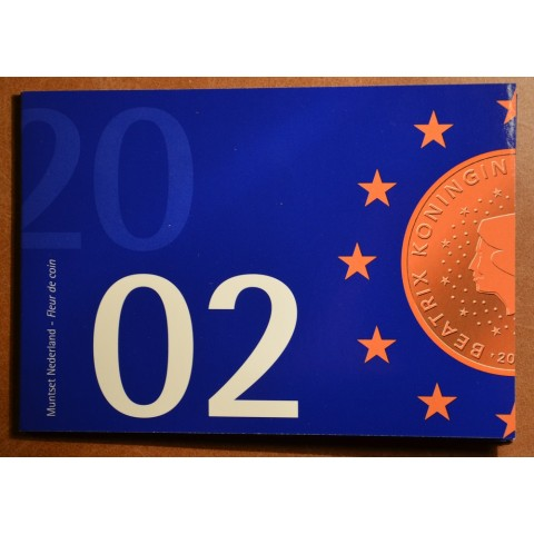 Sada 8 mincí Holandsko 2002 (BU)