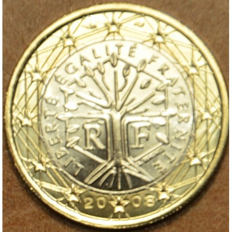 1 Euro Francúzsko 2008 (UNC)