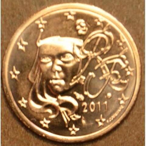 2 cent Francúzsko 2011 (UNC)