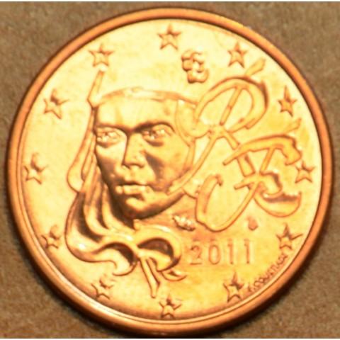 1 cent Francúzsko 2011 (UNC)