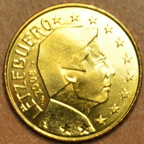50 cent Luxembursko 2008 (UNC)