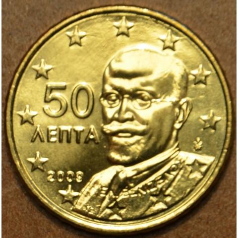 50 cent Grécko 2009 (UNC)