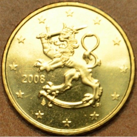 50 cent Fínsko 2008 (UNC)