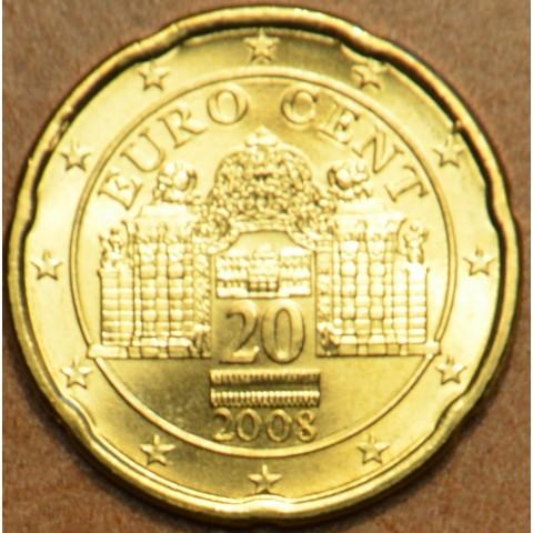 20 cent Rakúsko 2008 (UNC)