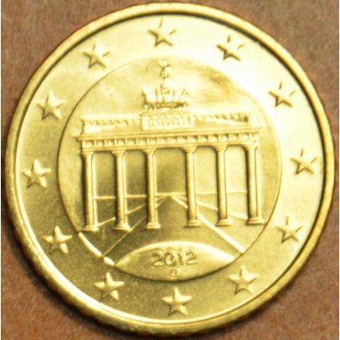 """50 cent Nemecko """"D"""" 2012 (UNC)"""