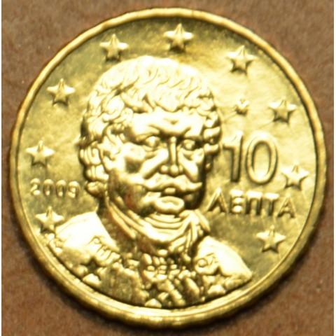 10 cent Grécko 2009 (UNC)