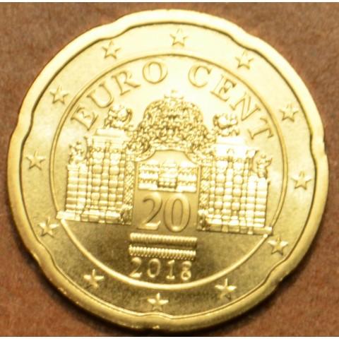 20 cent Rakúsko 2018 (UNC)