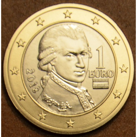 1 Euro Rakúsko 2018 (UNC)