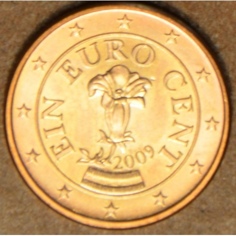 1 cent Rakúsko 2009 (UNC)