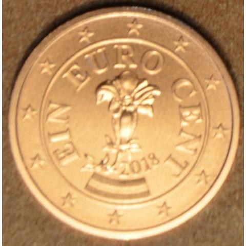 1 cent Rakúsko 2018 (UNC)