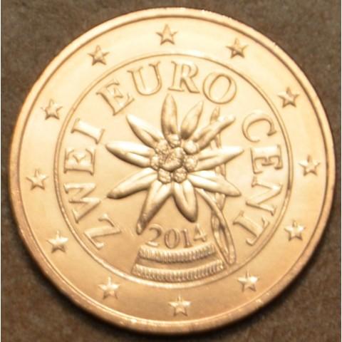 2 cent Rakúsko 2014 (UNC)