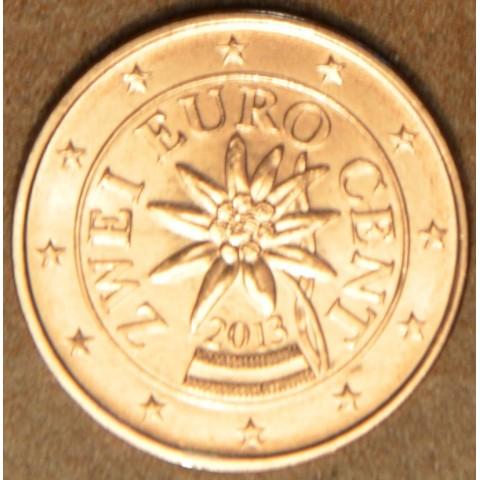 2 cent Rakúsko 2013 (UNC)