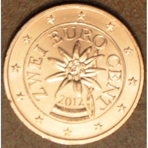 2 cent Rakúsko 2012 (UNC)
