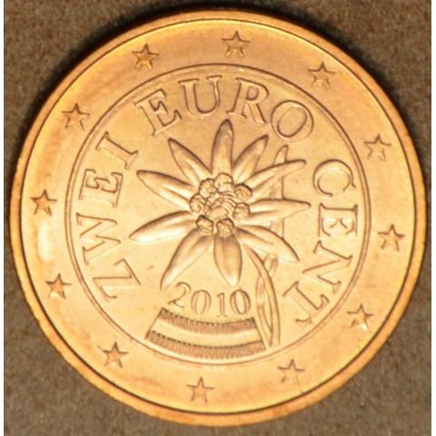 2 cent Rakúsko 2010 (UNC)