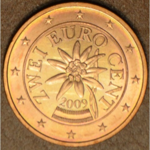 2 cent Rakúsko 2009 (UNC)