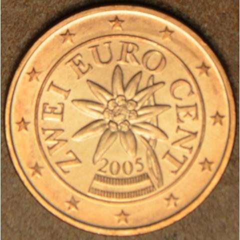 2 cent Rakúsko 2005 (UNC)