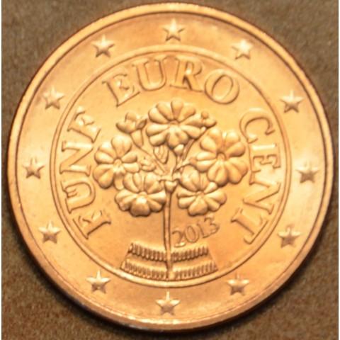 5 cent Rakúsko 2013 (UNC)