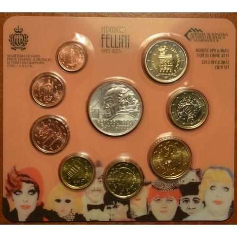 Oficiálna sada 9 mincí San Marino 2013 (BU)
