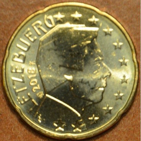 20 cent Luxembursko 2018 (UNC)