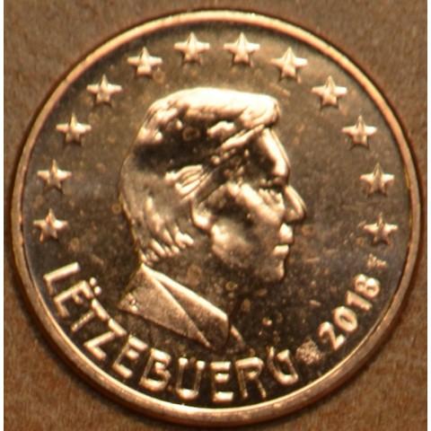 1 cent Luxembursko 2018 (UNC)