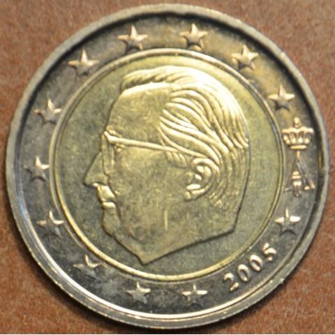 2 Euro Belgicko 2005 - Albert II.  (UNC)