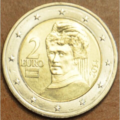 2 Euro Rakúsko 2014 (UNC)