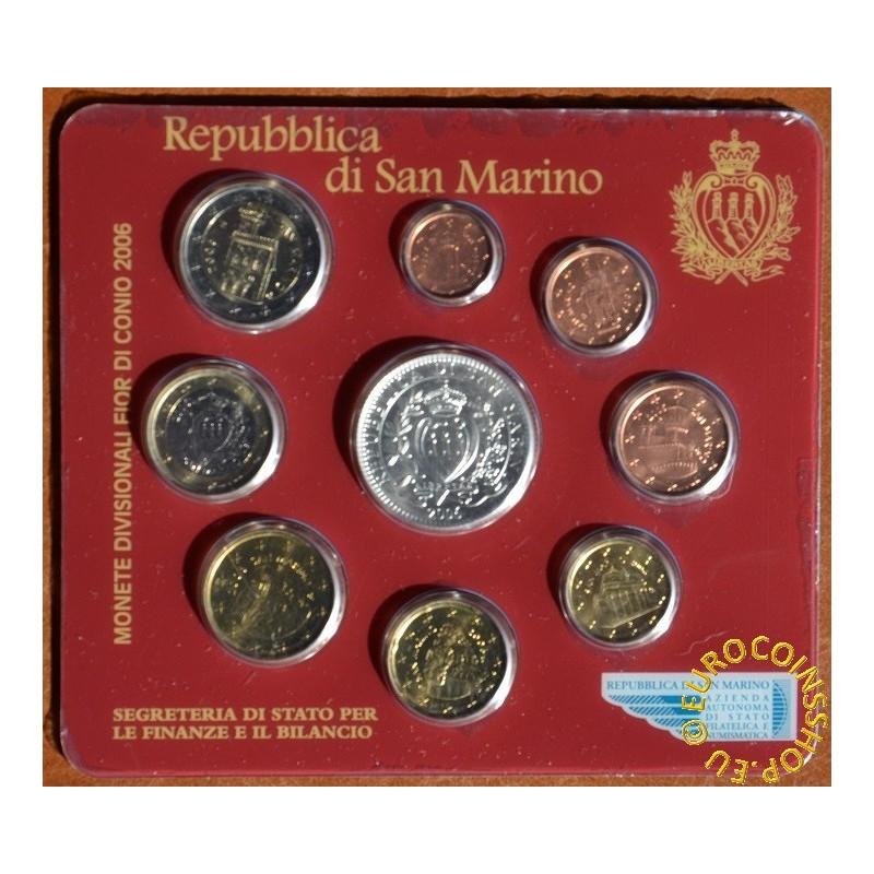 Balkonmobel Rattan Ikea :  coin sets > San Marino > Official 9 coins set of San Marino 2006 (BU[R