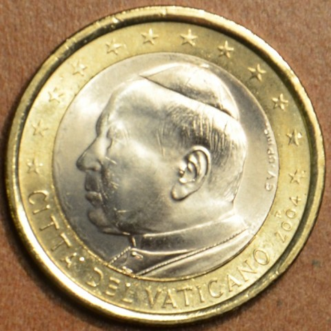 1 Euro Vatikán Ján Pavol II 2004 (BU)