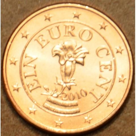 1 cent Rakúsko 2010 (UNC)