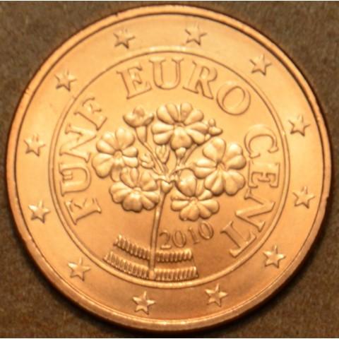 5 cent Rakúsko 2010 (UNC)