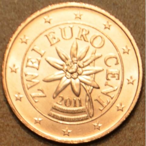 2 cent Rakúsko 2011 (UNC)