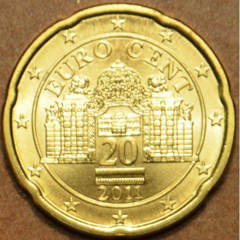 20 cent Rakúsko 2011 (UNC)