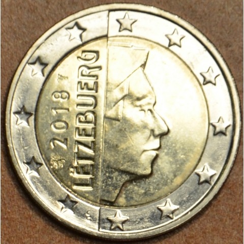 2 Euro Luxembursko 2018 (UNC)