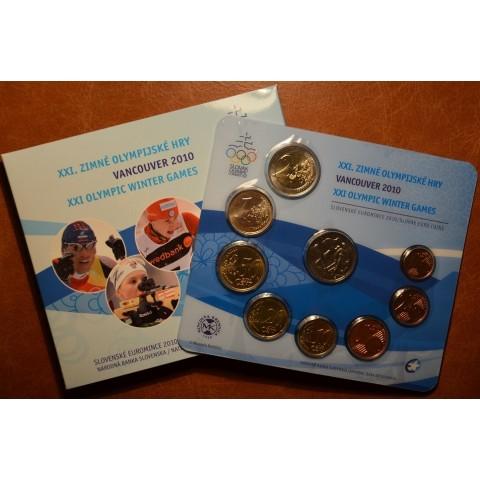 """Súbor Slovenských mincí 2010 """"Vancouver"""""""