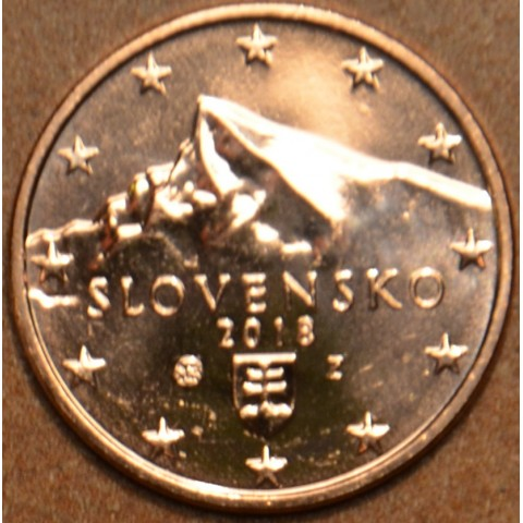 1 cent Slovensko 2018 (UNC)