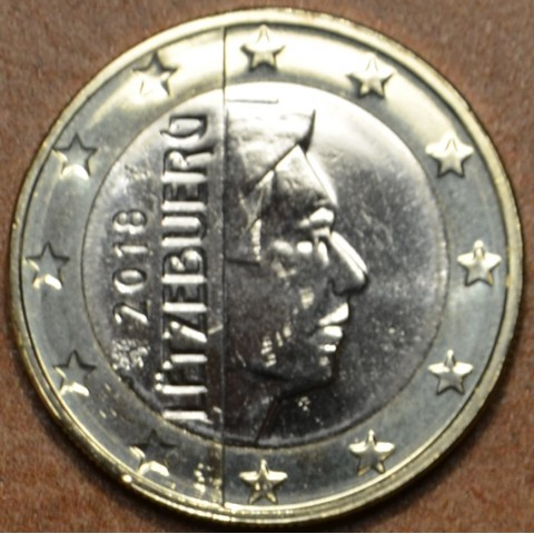 1 Euro Luxembursko 2018 (UNC)
