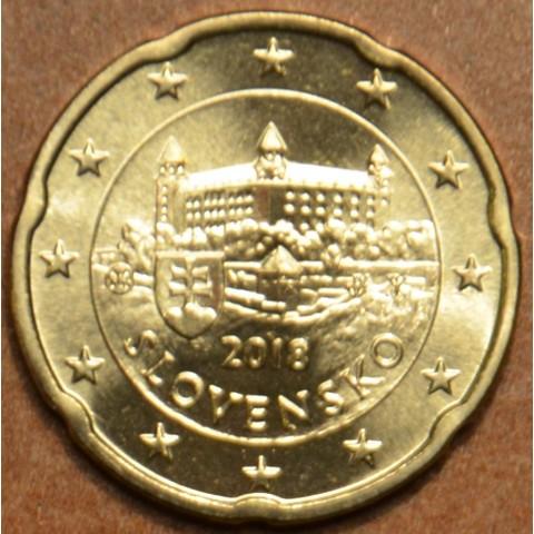 20 cent Slovensko 2018 (UNC)