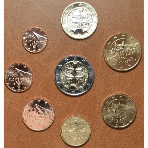 Sada Slovenských mincí 2018 (UNC)