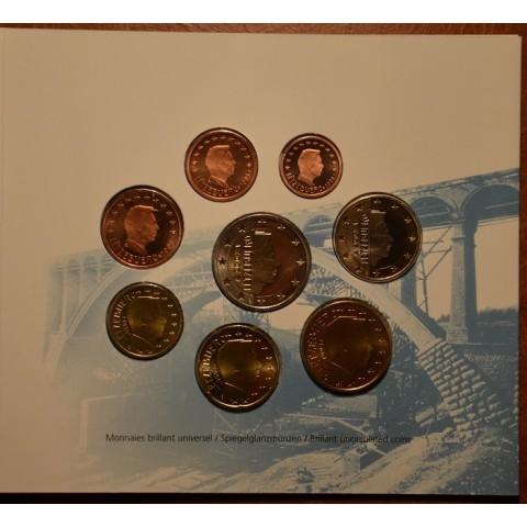 Súbor 8 mincí 2003 Luxembursko  (BU)