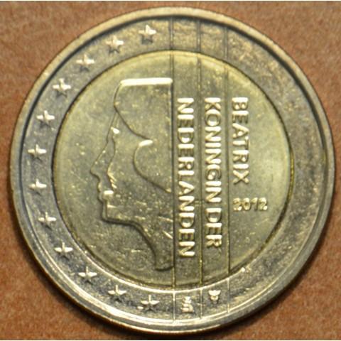 2 Euro Holandsko 2012 - Kráľovná Beatrix (UNC)