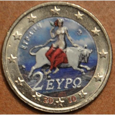 2 Euro Greece 2010 - Europe (colored UNC)