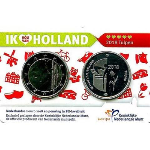2 Euro Holandsko 2018 - Holland coin fair (BU)
