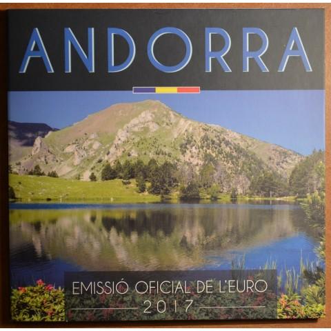 Sada 8 mincí Andorra 2017 (BU)