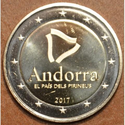 2 Euro Andorra 2017 - Pyrenejská krajina (UNC)